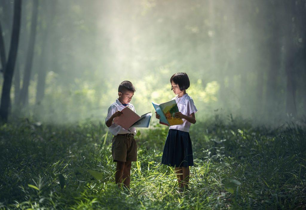 book, asia, children